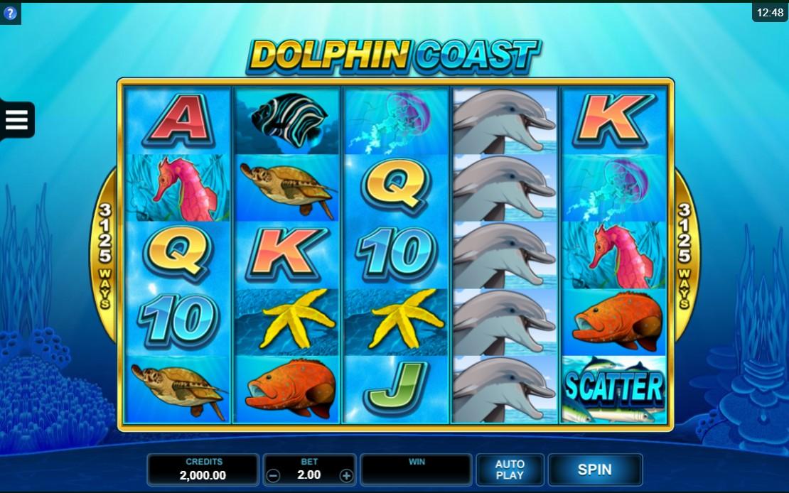 Dolphine Coast Slot 3125 ทางที่จะชนะได้
