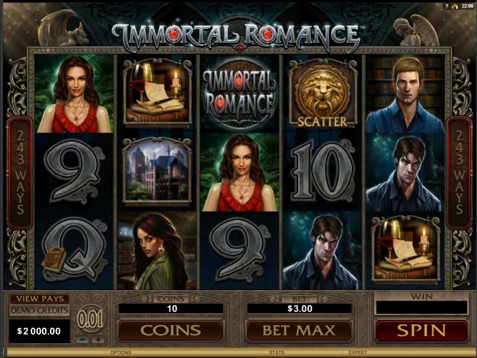 Immortal Romance Slot - รีวิวสล็อตออนไลน์
