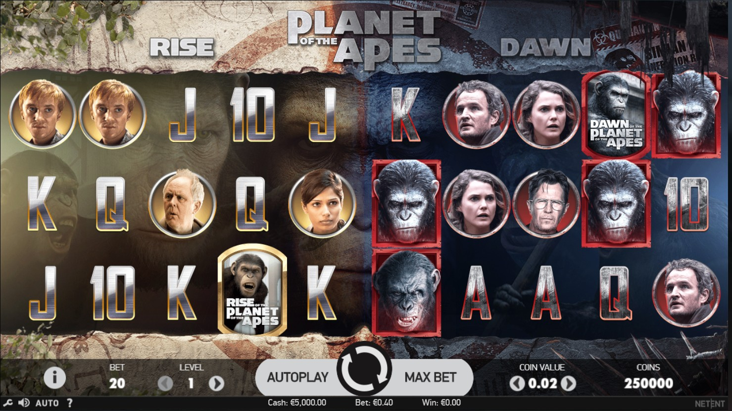 Branded Slot - Planet of the Apes เล่นสล็อต วิธีเล่นสล็อต