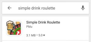 Simple Drink Roulette