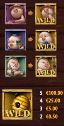 wild - สล็อต ลูกหมู3ตัว