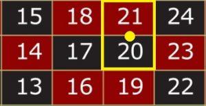 ค่อม 2 หมายเลข : อัตราจ่าย 1 : 17